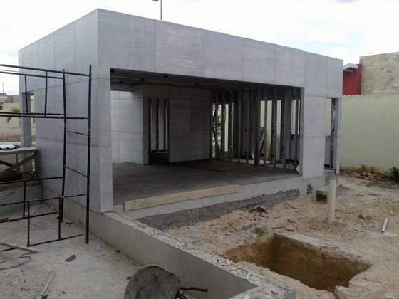 Drywall área Externa República - Drywall