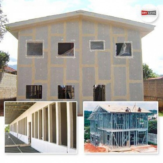 Drywall Externo Luz - Drywall Teto
