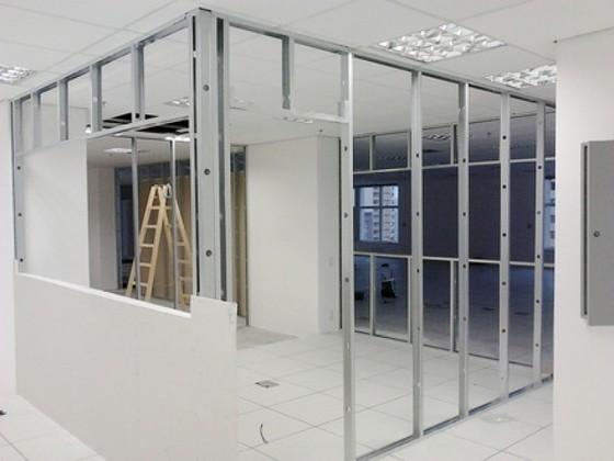 Estrutura para Drywall Preço Bertioga - Drywall Gesso