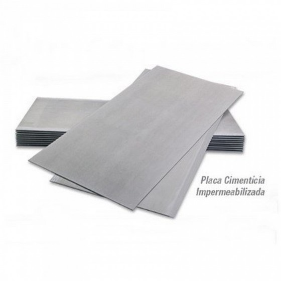 Placa de Gesso Resistente a água Votuporanga - Placa Anti Chamas Rf