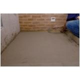 cimento de piso Parque Dom Pedro