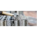 cimento para construção civil Rio Grande da Serra