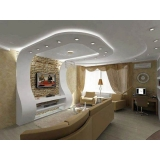 drywall de gesso decorado valor Vila Suzana