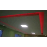 forros de gesso com led Alto do Pari