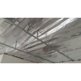 instalação de forro de pvc com manta Casa Verde