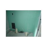 placa de gesso banheiro preço Marapoama