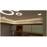 sanca de gesso com led